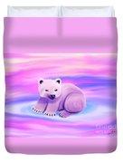 Baby Polar Bear  Duvet Cover