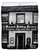 Bakewell  Pudding Factory In The Peak District - England Duvet Cover