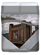 Baltic And Gateshead Millennium Bridge Duvet Cover