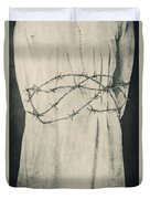 Barbed Wire Duvet Cover by Joana Kruse