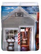 Barber Shop  Duvet Cover