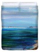 Barrier Islands Duvet Cover