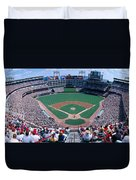 Baseball Stadium, Texas Rangers V Duvet Cover