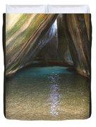 Bath Rocks  Duvet Cover