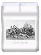 Battle Of Camden, 1780 Duvet Cover