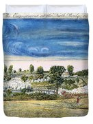 Battle Of Concord, 1775 Duvet Cover