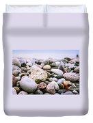 Beach Pebbles Duvet Cover