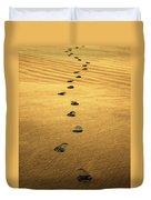 Beach Walker Duvet Cover