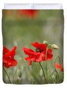 Beautiful Poppies 1 Duvet Cover