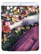 Bedded In Petals Duvet Cover