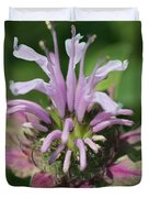 Bee Balm From The Panorama Mix Duvet Cover