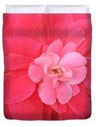 Begonia Named Nonstop Pink Duvet Cover