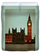 Big Ben And Houses Of Parliament Duvet Cover