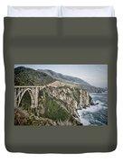 Bixby Bridge Vista Duvet Cover