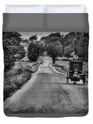 Black And White Buggy Duvet Cover