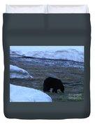 Black Bear Duvet Cover