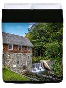 Blow Me Down Mill Cornish New Hampshire Duvet Cover