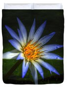 Blue Lotus Duvet Cover