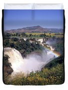 Blue Nile Falls Duvet Cover