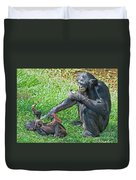 Bonobo Adult And Baby Duvet Cover