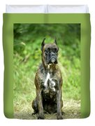 Boxer Dog Duvet Cover