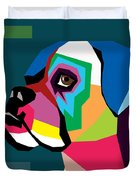 Boxer  Duvet Cover by Mark Ashkenazi