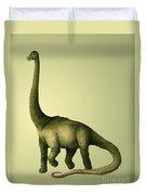 Brachiosaurus Duvet Cover