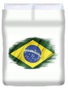 Brazilian Flag  Duvet Cover