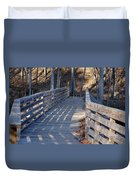 Bridge To The Forest Duvet Cover