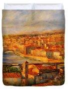 Bridges Of Florence Duvet Cover