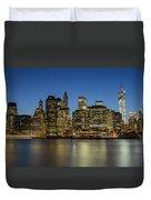 Bright Lights Big City Duvet Cover
