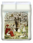 Browning: Pied Piper Duvet Cover