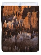 Bryce Canyon National Park Hoodo Monoliths Sunrise Southern Utah Duvet Cover