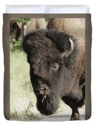 Buffalo Painterly Duvet Cover