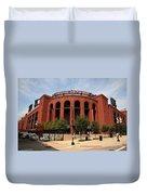 Busch Stadium - St. Louis Cardinals Duvet Cover