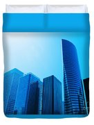 Business Skyscrapers Duvet Cover