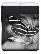 Butterfly In Motion Duvet Cover