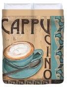Cafe Nouveau 1 Duvet Cover by Debbie DeWitt