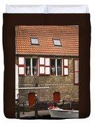 Canal Scene Duvet Cover
