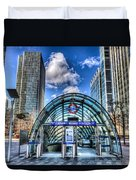 Canary Wharf Station Duvet Cover