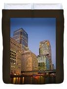 Canary Wharf. Duvet Cover