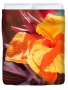 Canna Lily Named Durban Duvet Cover