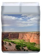 Canyon De Chelly From Sliding House Overlook Duvet Cover