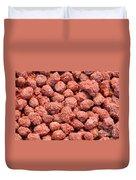 Caramelized Peanuts Duvet Cover