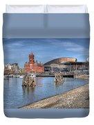 Cardiff Bay Duvet Cover