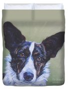 Cardigan Welsh Corgi Duvet Cover