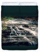 Cascadilla Gorge Duvet Cover