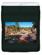 Castor River Shut Ins Duvet Cover
