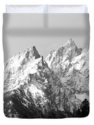 Cathedral Group Grand Teton National Duvet Cover
