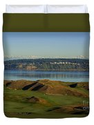 Chambers Bay Golf Course - University Place - Washington Duvet Cover
